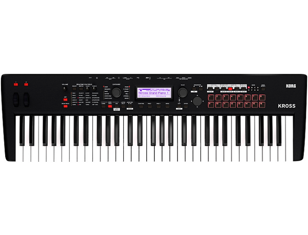 Korg KROSS 2 61-Key Synthesizer Workstation Black