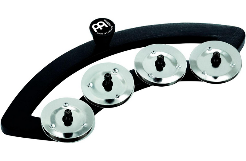 Meinl Backbeat Tambourine with Stainless Steel Jingles 10 to 12 in. Drum