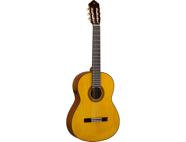 Yamaha CG-TA TransAcoustic Nylon-String Acoustic-Electric Guitar Gloss Natural