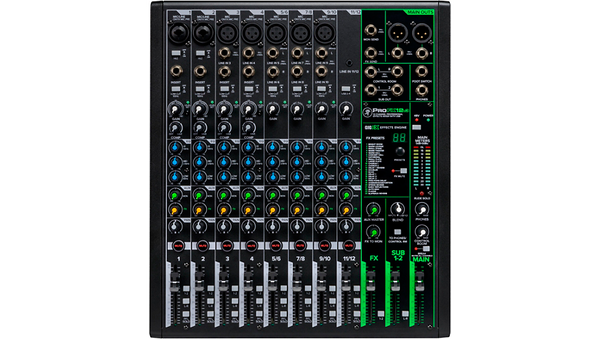 Mackie ProFX12v3 ProFX12v3 12-Channel Professional Effects Mixer with USB