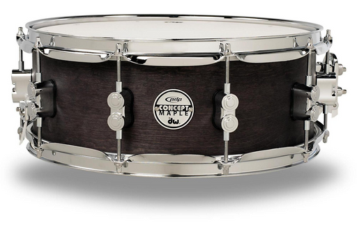 PDP by DW Black Wax Maple Snare Drum 14x5.5 Inch