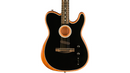 Fender Acoustasonic Telecaster Acoustic-Electric Guitar Black