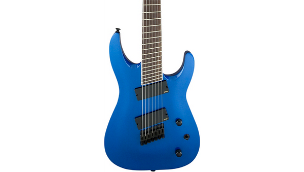 Jackson X Series Soloist SLAT7 7-String Multi-Scale Electric Guitar Blue Metallic