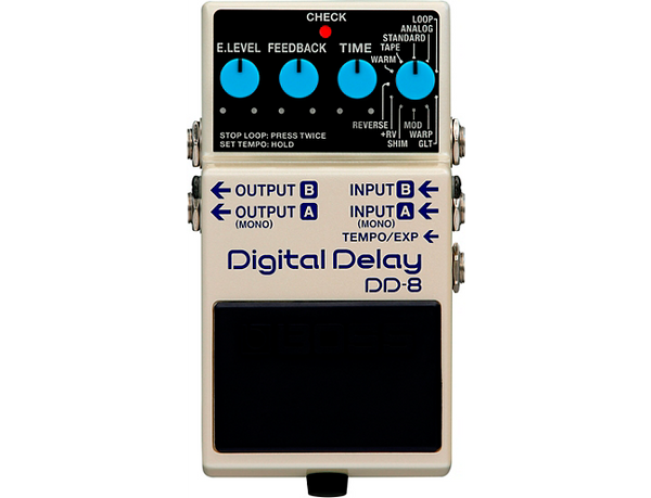Boss DD-8 Digital Delay Effects Pedal