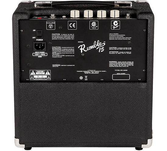 RUMBLE 15 1x8 15W Bass Combo Amplifier