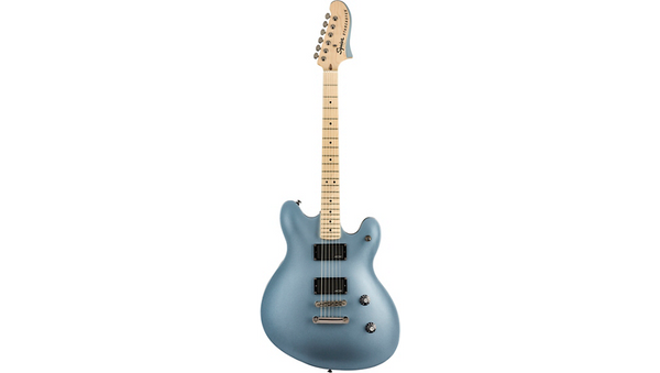 Squier Contemporary Active Starcaster Maple Fingerboard Ice Blue Metallic