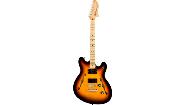 Squier Affinity Series Starcaster Maple Fingerboard Electric Guitar 3-Color Sunburst