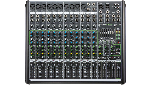Mackie ProFX16v2 16-Channel 4-Bus FX Mixer with USB