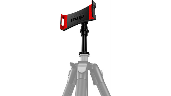 IK Multimedia iKlip3 Video for iPad or Tablet with Tripod Thread Adapter