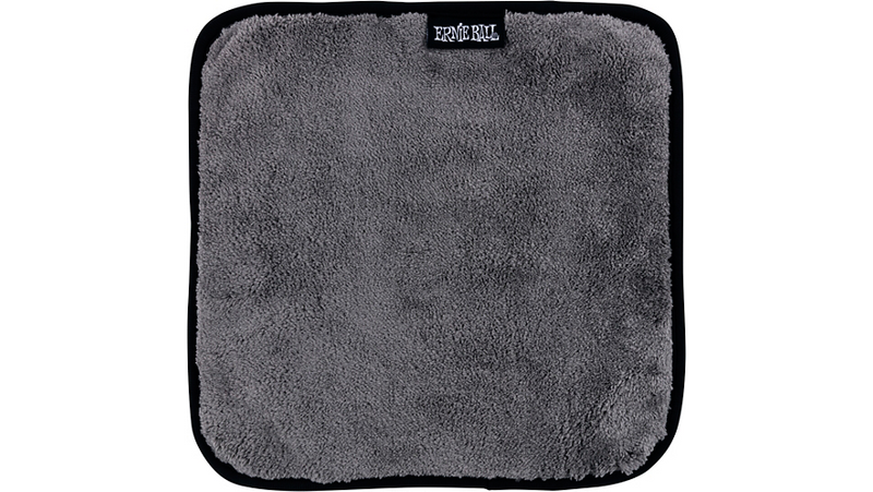 Ernie Ball Ultra-Plush Microfiber Polish Cloth Gray