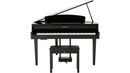 Yamaha Clavinova CLP665 Digital Grand Piano with Bench Polished Ebony