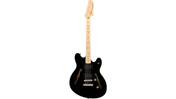 Squier Affinity Series Starcaster Maple Fingerboard Electric Guitar Black