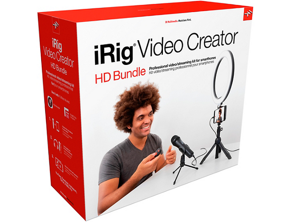 IK Multimedia iRig Video Creator HD Bundle