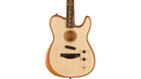 Fender Acoustasonic Telecaster Acoustic-Electric Guitar Natural