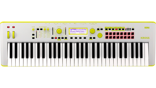 Korg KROSS 2 Limited Edition 61-Key Workstation Green