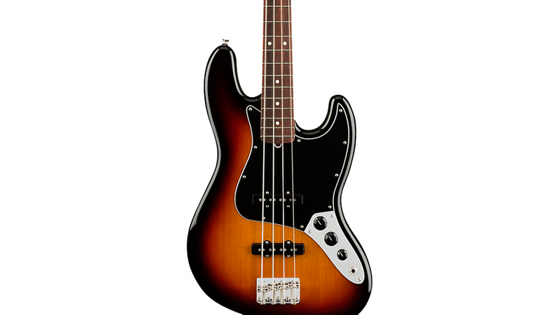 Fender American Performer Jazz Bass Rosewood Fingerboard 3-Color Sunburst