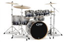 PDP by DW Concept Maple 7-Piece Shell Pack Silver to Black Fade