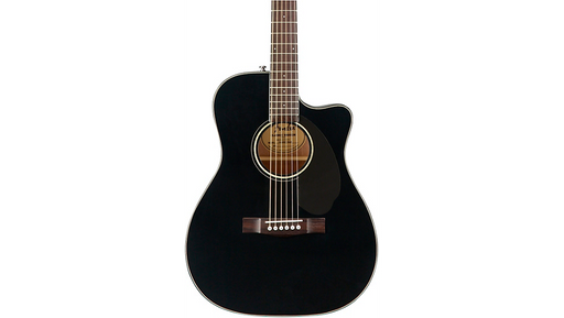 Fender CC-60SCE Concert Acoustic-Electric Guitar Black