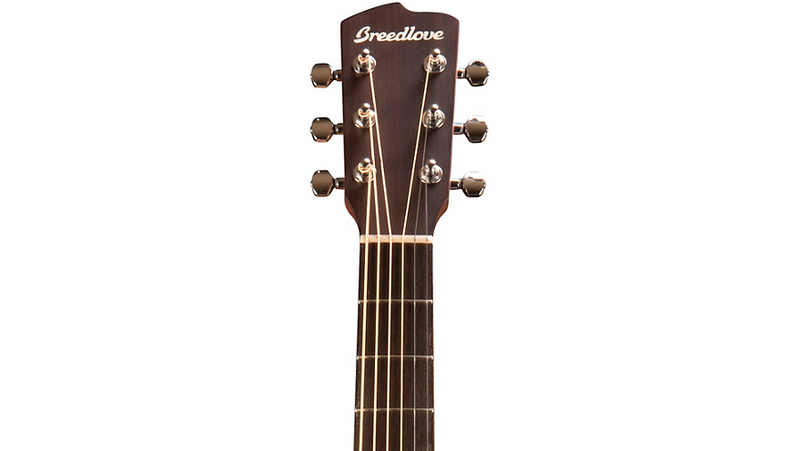 Breedlove Discovery Concerto Acoustic-Electric Guitar Gloss Natural