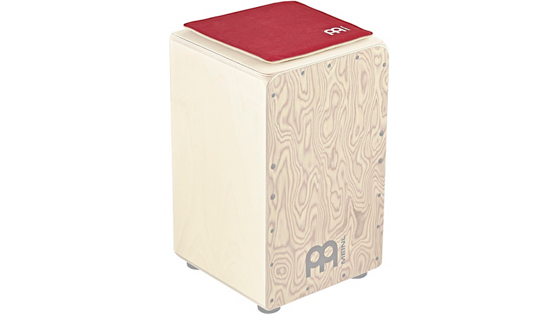 Meinl Synthetic Leather Cajon Seat Vintage Red