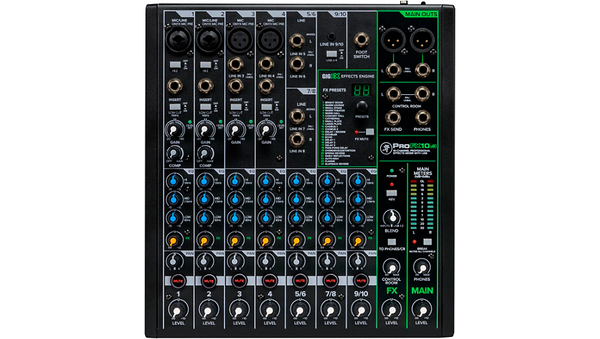 Mackie ProFX10v3 ProFX10v3 10-Channel Professional Effects Mixer with USB