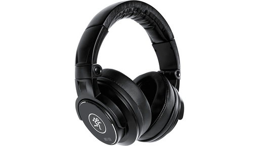 Mackie MC-150 Professional Closed-Back Headphones Black