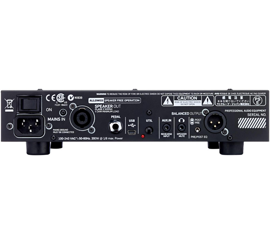 BH550 550-watt Compact Bass Head