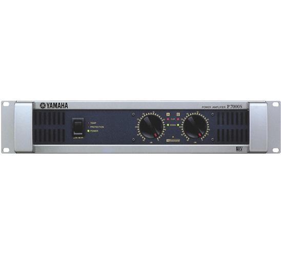 P7000S P-Series 2-Channel Power Amplifier