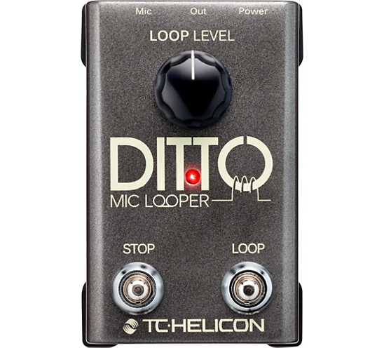 Helicon Ditto Mic Looper Pedal
