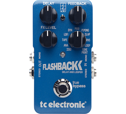 Flashback Delay and Looper Pedal