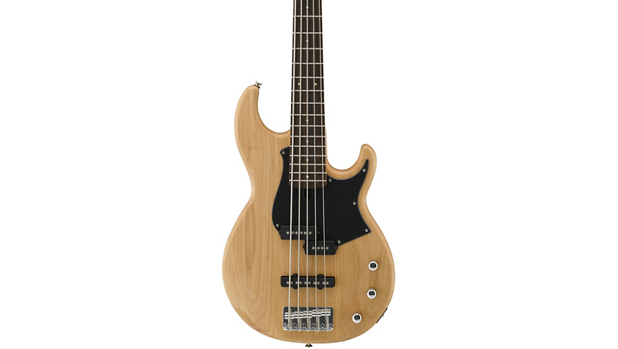 Yamaha BB235YNS 5-String Electric Bass Yellow Natural Satin