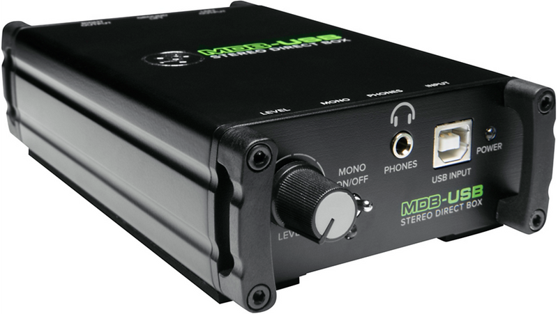 Mackie MDB-USB USB Stereo Direct Box