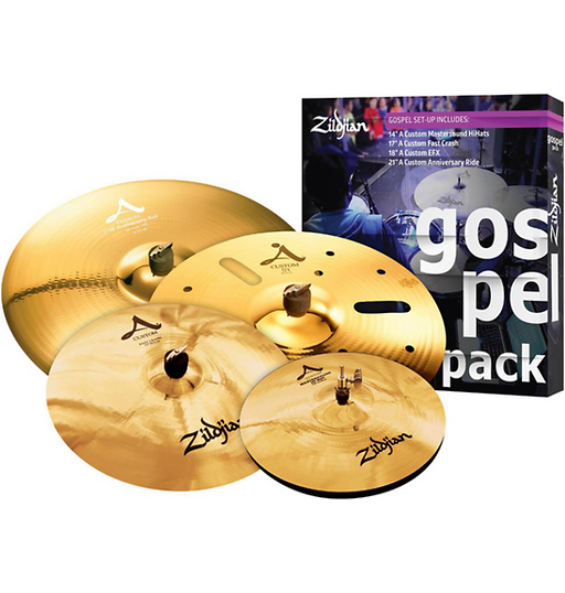 A Custom Series Cymbal Set Gospel Pack