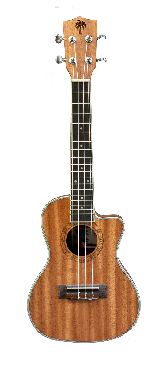 Ookala Concert Electric Ukulele Mahogany With Cutaway