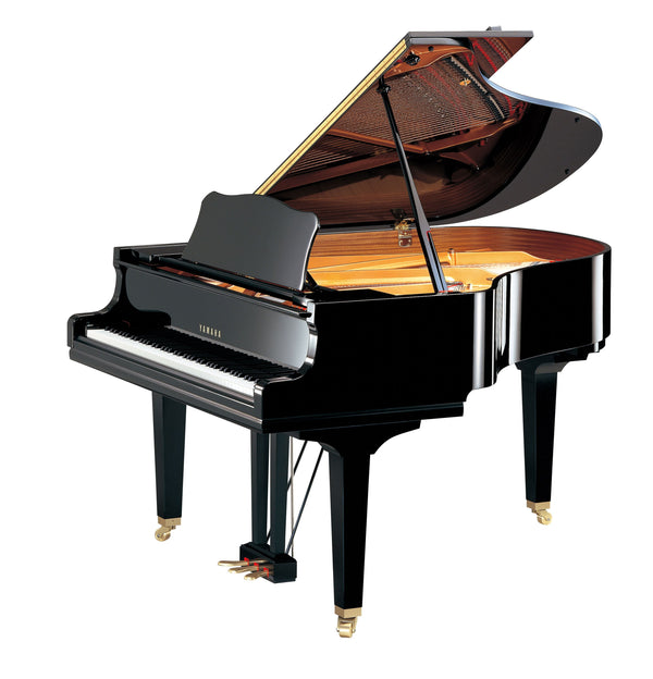 Yamaha GC2 Acoustic Baby Grand Piano Polished Ebony