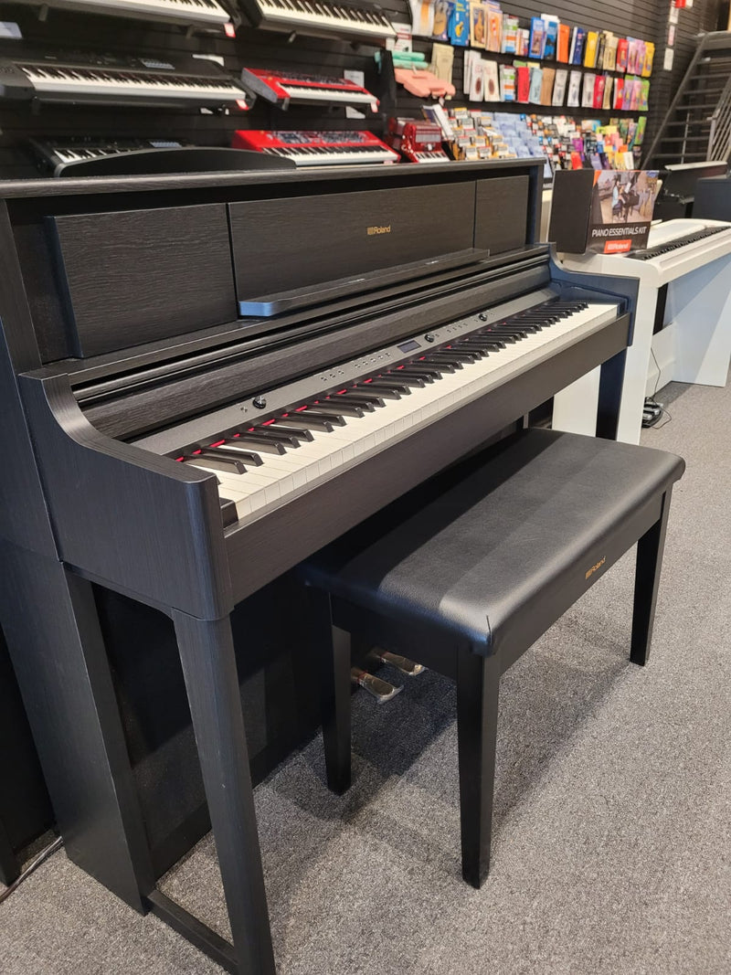 Roland Digital Piano LX705 Charcoal Black (Demo Stock)