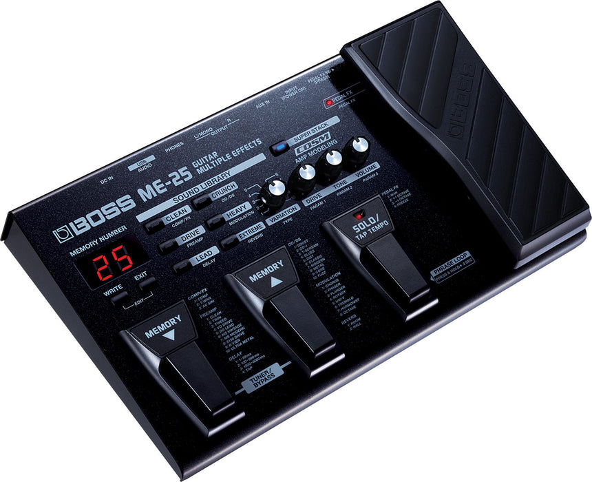 Boss ME-25 Guitar Multi-Effects Pedal