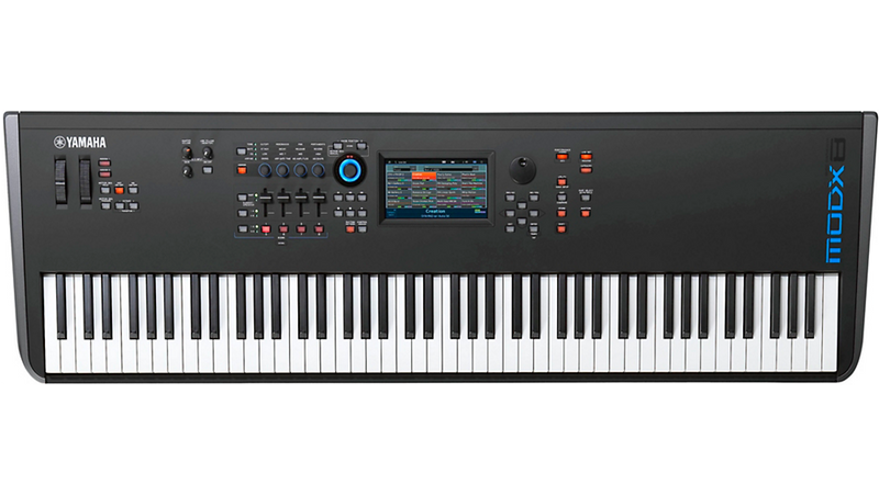 MODX8 88-Key Synthesizer Workstation