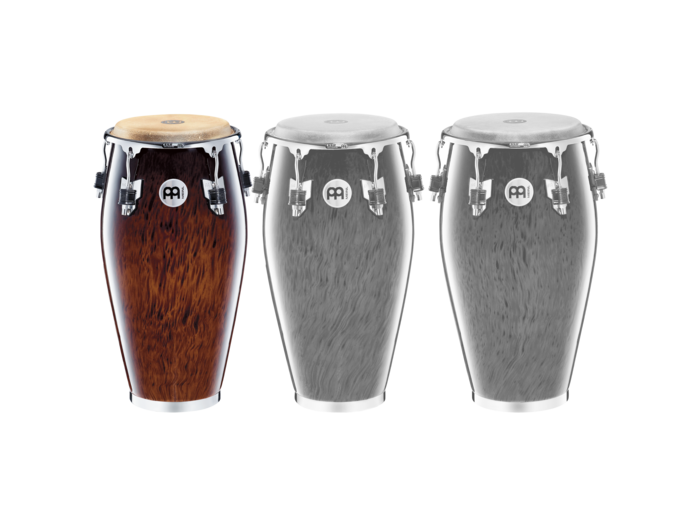 "Meinl 11"" Professional Series Wood Quinto Conga Brown Burl"