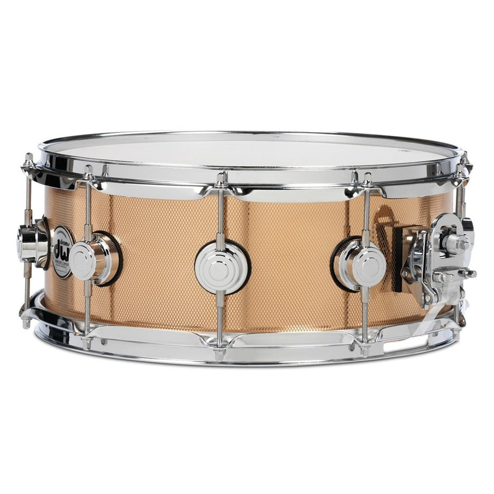 "DW Collector's Series Knurled Bronze Snare - 5.5"" x 14"""