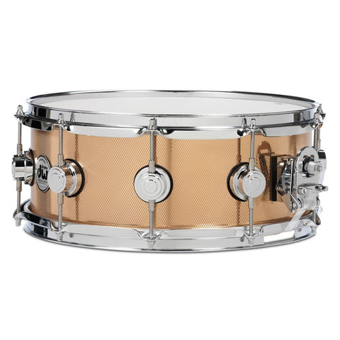 "Collector's Series Knurled Bronze Snare - 5.5"" x 14"""