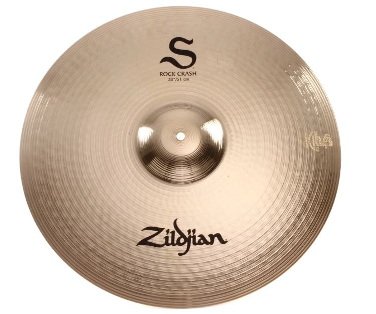 "Zildjian 20"" S Series Rock Crash Cymbal"