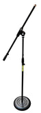 Stronghold Round Base Microphone Stand with Boom