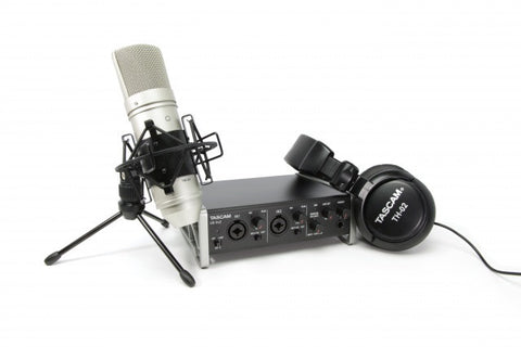 US-2x2 Complete Recording Studio TrackPack for Mac & Windows Computers