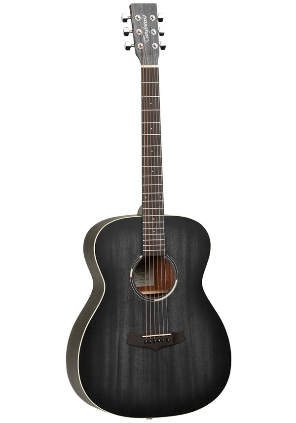 Tanglewood Blackbird Folk Acoustic Guitar- Smokestack Black Satin