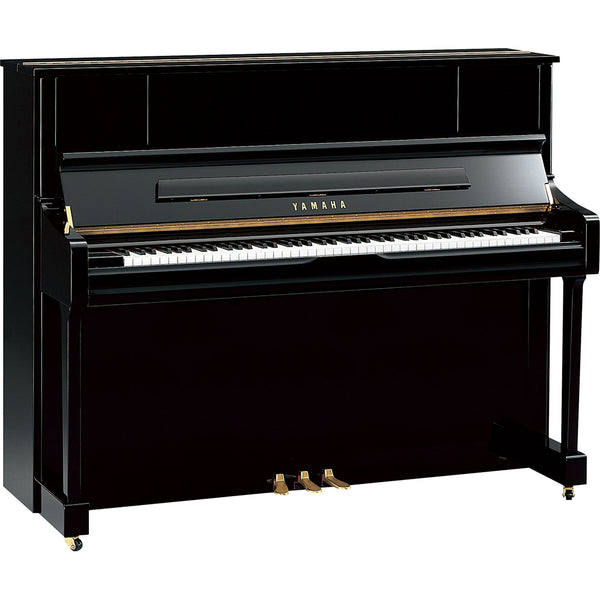 Yamaha U1J Acoustic Upright Piano Polished Ebony
