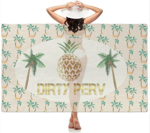 Dirty PERV Sheer Sarong