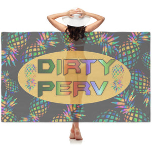 NEW PINEAPPLE Dirty PERV Sheer Sarong