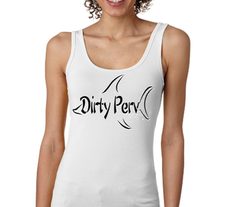 Women's Super Soft Tank Top - shark