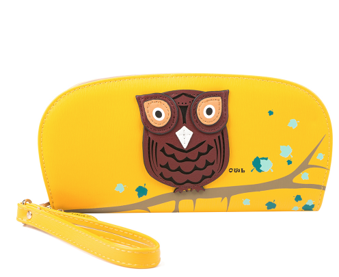 Cute Owl Stereoscopic Women Clutch